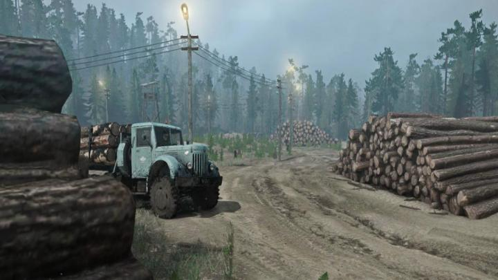 Photo of SpinTires MudRunner – Wild Wild Harita Yaması v21.06.18