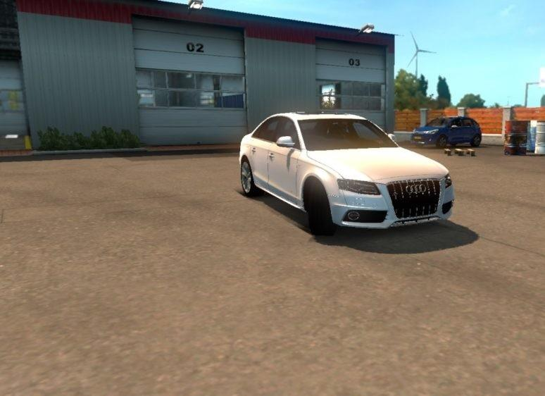 Photo of ETS2 – Audi RS4 Araba Modu V1.5