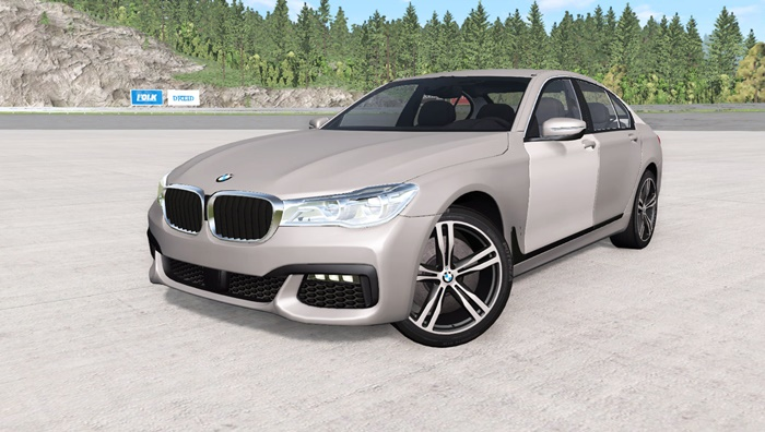 Photo of BeamNG – BMW 750i xDrive M Sport (G11) 2016 Model