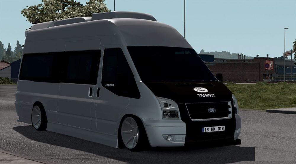 Photo of ETS2 – Ford Transit 2010
