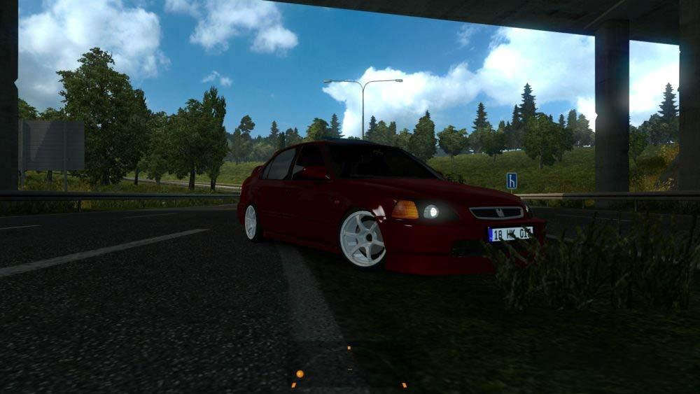 Photo of ETS2 – Honda Civic Araba Modu