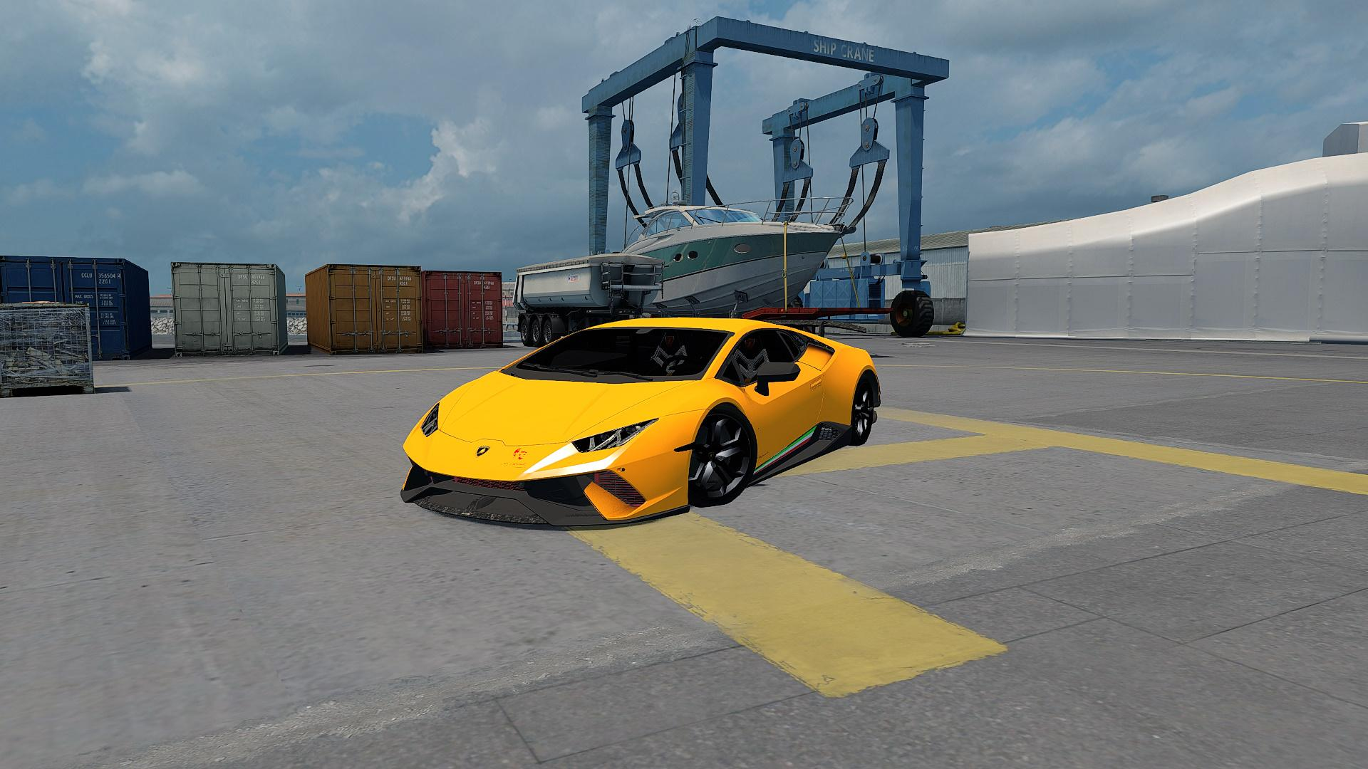 Photo of ETS2 – Lamborghini Huracan Araba Modu V2