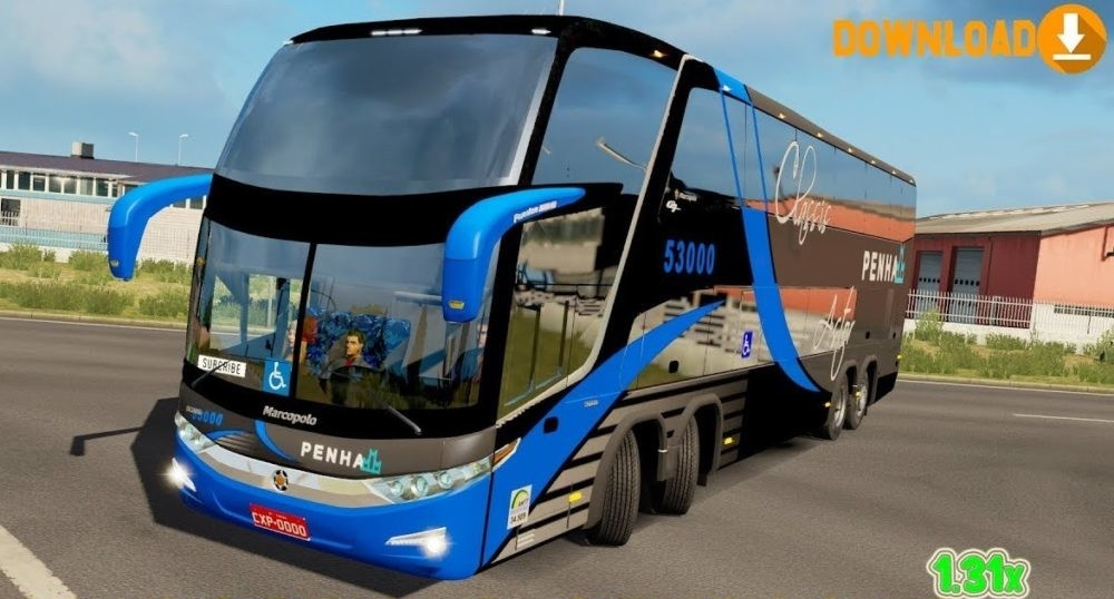Photo of ETS2 – Marcopolo G7 1800 DD Otobüs Modu V1.0