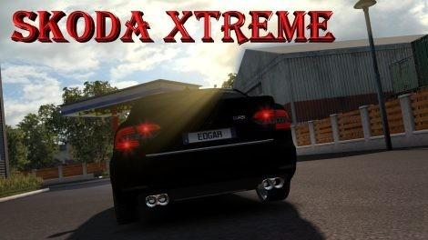 Photo of ETS2 – Skoda Superb RS Xtreme Araba Modu V1