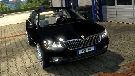 Photo of ETS2 – Skoda Superb Araba Modu