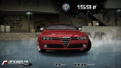 Photo of NFS Most Wanted – Alfa Romeo 159Ti