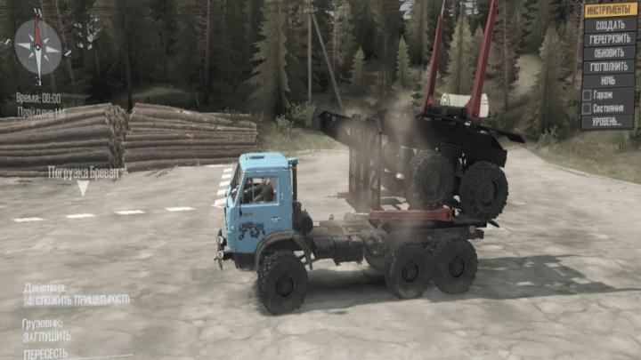 Photo of SpinTires MudRunner – Kamaz-4310 Truck v1.0