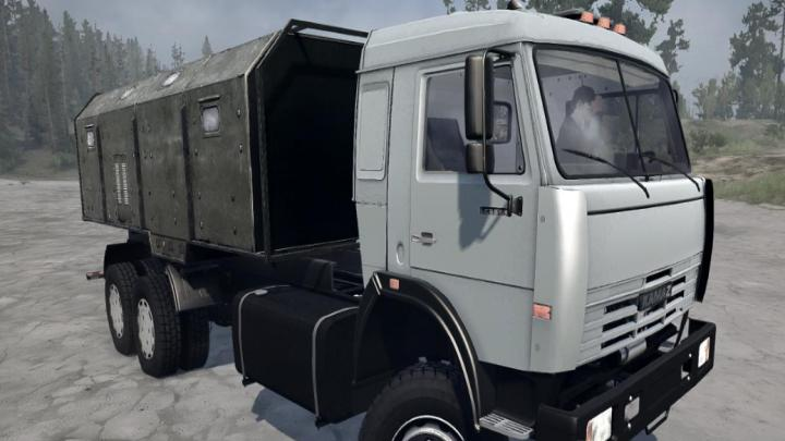 Photo of SpinTires MudRunner – KamAZ-54115 Long Kamyon v05.08.18