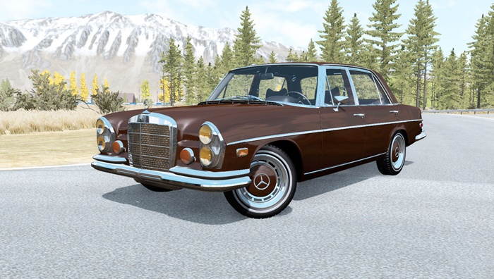 Photo of BeamNG – Mercedes-Benz 300 SEL 6.3 (W109) 1968 Model Araba Modu