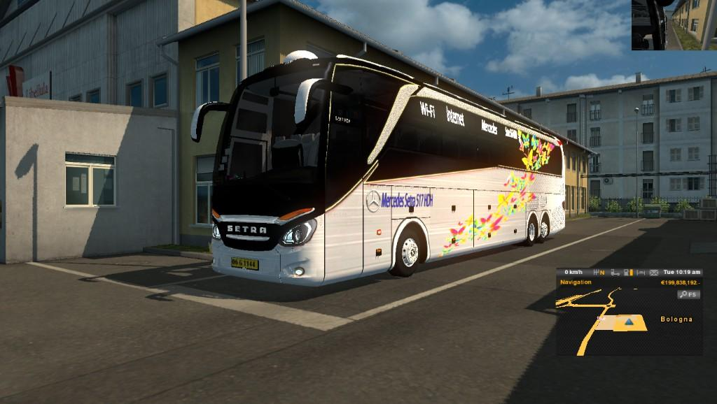 Photo of ETS2 – Mercedes Setra 517 HDH 2018 Otobüs Modu