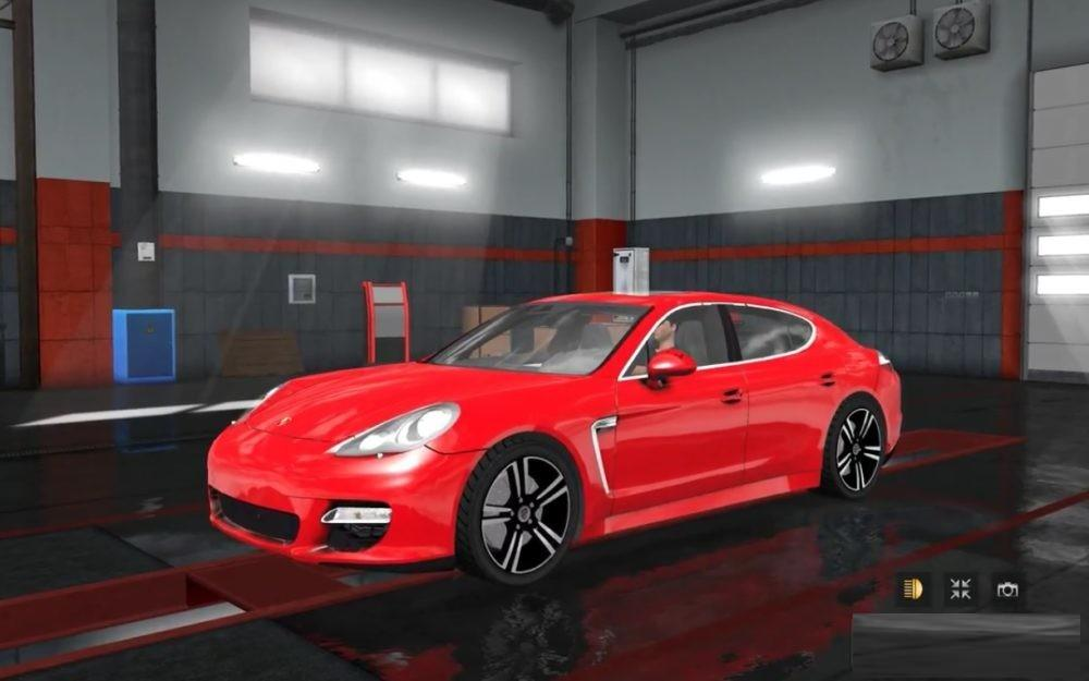 Photo of ETS2 – Porsche Panamera Turbo S 4.8 4WD Araba Modu V1.0