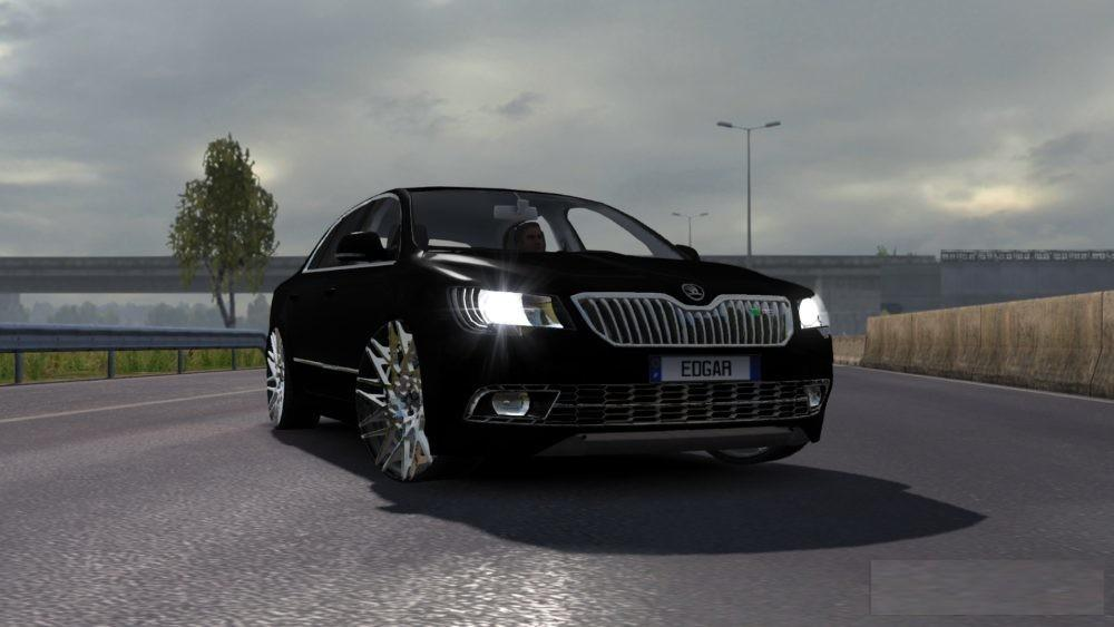 Photo of ETS2 – Skoda Superb RS Araba Modu V3.0