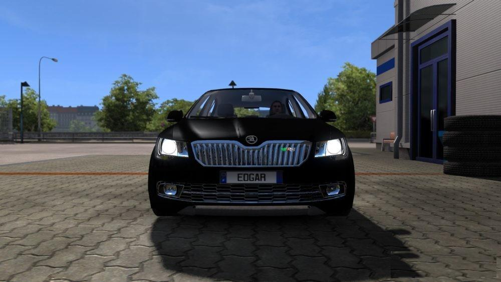 Photo of ETS2 – Skoda Superb RS Araba Modu
