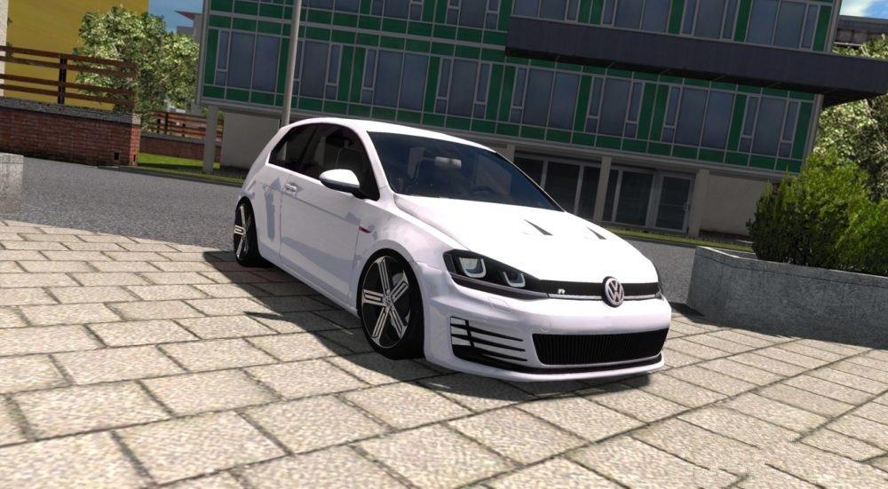 Photo of ETS2 – Volkswagen Golf 7 R Line Araba Modu
