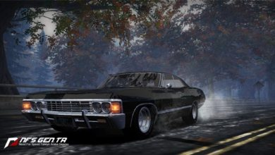 Photo of NFS Most Wanted – Chevrolet Impala Supernatural 1967 Model