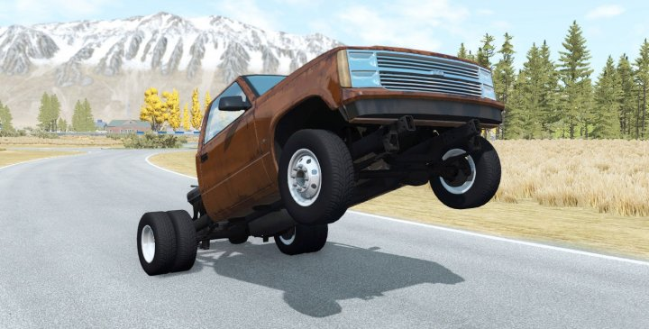 Photo of BeamNG – Gavril D-Series Wheelie Kamyonet V1.1