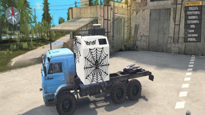 Photo of SpinTires MudRunner – KAMAZ-43118 v2