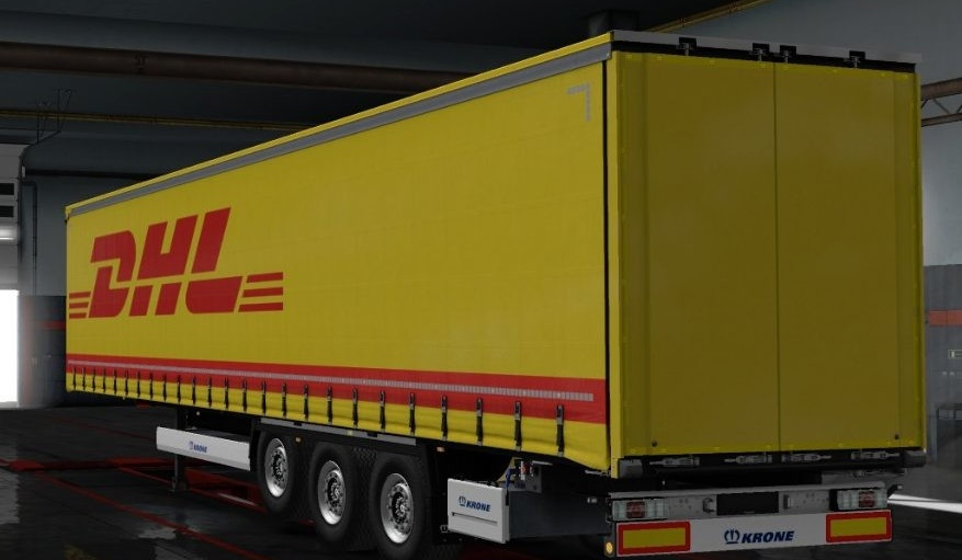 Photo of ETS2 – Krone DHL Dorse Modu