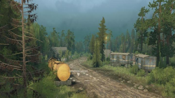 Photo of SpinTires MudRunner – Leshiy Drives Harita Yaması v1