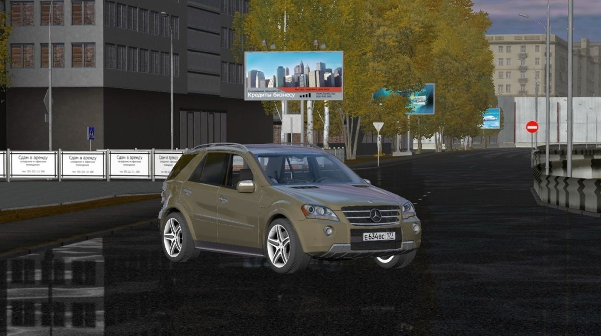 Photo of City Car Driving 1.5.1 – 1.5.6 – Mercedes-Benz ML63 AMG Araba Yaması