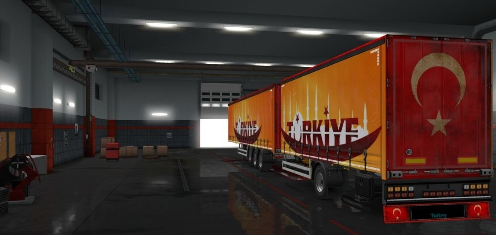 Photo of ETS2 – Türkiye Dorse Skin Modu