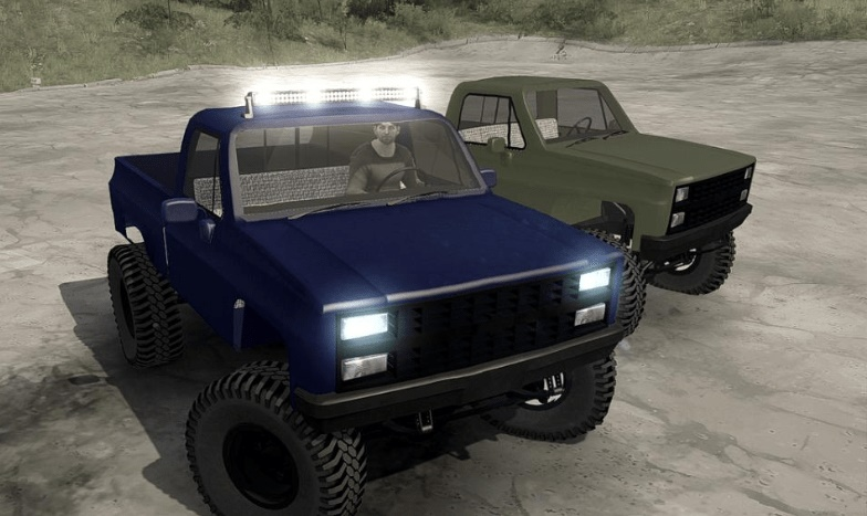 Photo of SpinTires MudRunner – Chevrolet Chevy 1985 v10/20/18