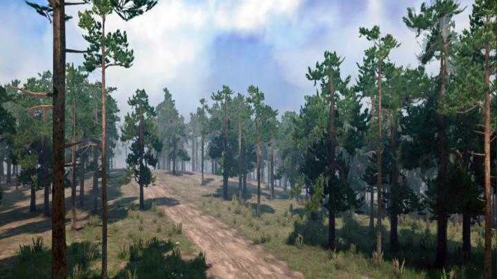 Photo of SpinTires MudRunner – Scavenging for Logs Haritası v08.10.18