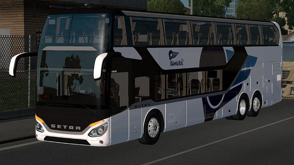 Photo of ETS2 – Setra 531 DT Yolcu Modu Fix Mod