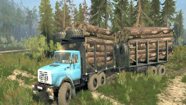 Photo of SpinTires MudRunner – Zil-4334 ARMATA
