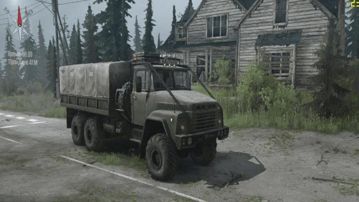 Photo of SpinTires MudRunner – Kraz 260 Kamyon v10/31/18