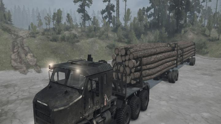 Photo of SpinTires MudRunner – Oshkosh M1070 HET Kamyon v1