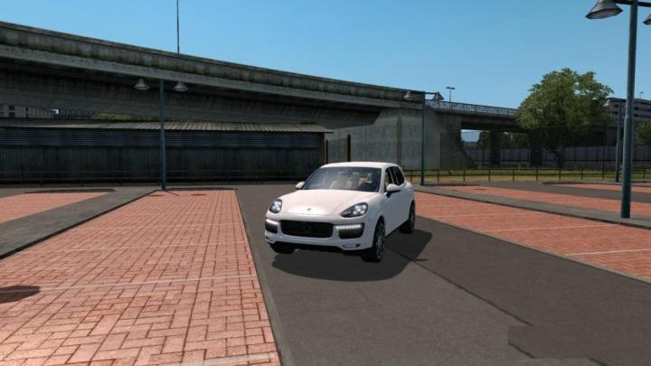 Photo of ETS2 – Porsche Cayenne Turbo S Araba Modu V1