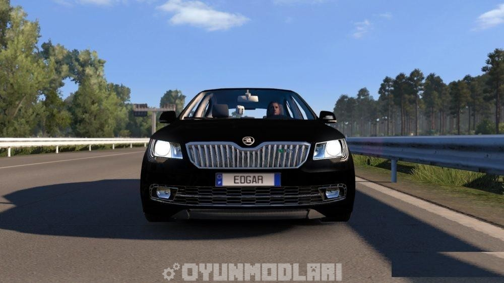 Photo of ETS2 – Skoda Superb RS (Orjinal Motorlar) V7