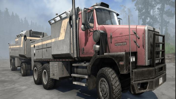 Photo of SpinTires MudRunner – Western Star 6900 XD Tır Modu v1.0.5