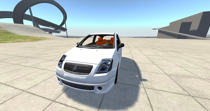 Photo of BeamNG – Citroen C2 Araba Modu