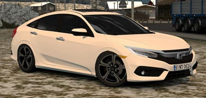 Photo of ETS2 – Honda Civic lES Araba Modu