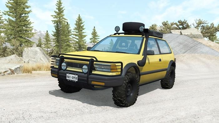 Photo of BeamNG – Ibishu Covet Corpo Forestale v1.1