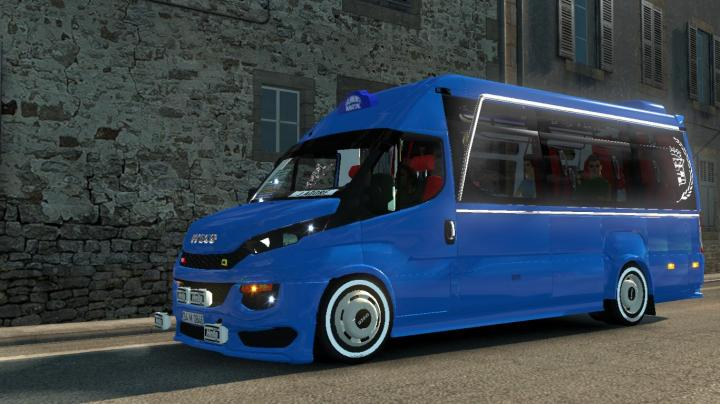 Photo of ETS2 – Iveco Daily V1R3 Dolmuş Modu