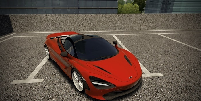 Photo of City Car Driving 1.5.7 – McLaren 720s 2018 Model