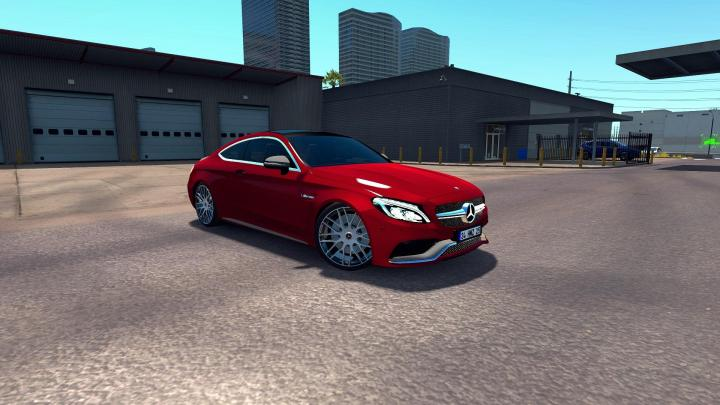 Photo of ETS2 – Mercedes-Benz C63S AMG Coupe Araba Modu