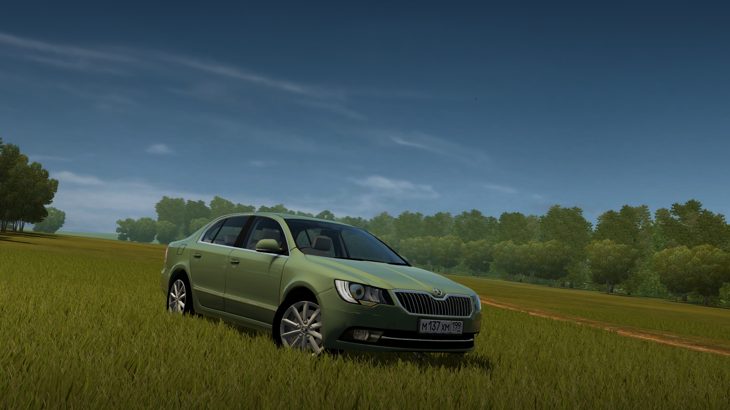 Photo of City Car Driving 1.5.7 – Skoda Superb 2014 Model