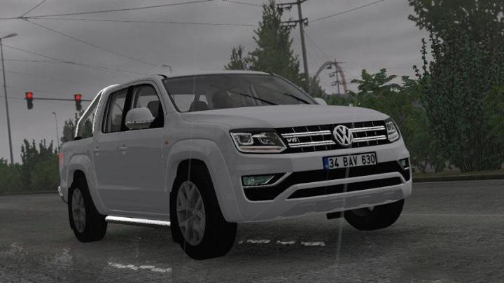 Photo of ETS2 – Volkswagen Amarok V6 V1R2 Araba Modu