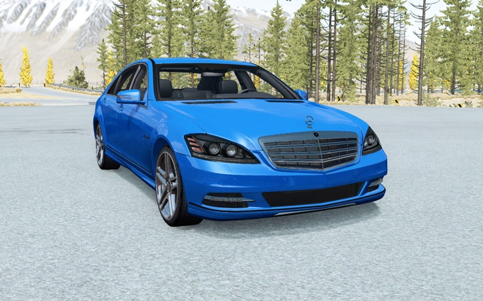 Photo of BeamNG – Mercedes-Benz S 600 (W221) 2009 Model Araba Yaması