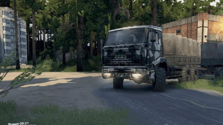 Photo of SpinTires MudRunner – Abandoned Mine Haritası v1.0