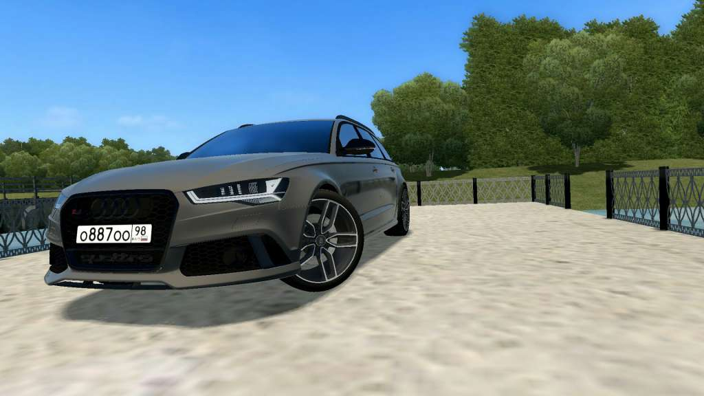 Photo of City Car Driving 1.5.7 – Audi RS6 C7 Araba Modu