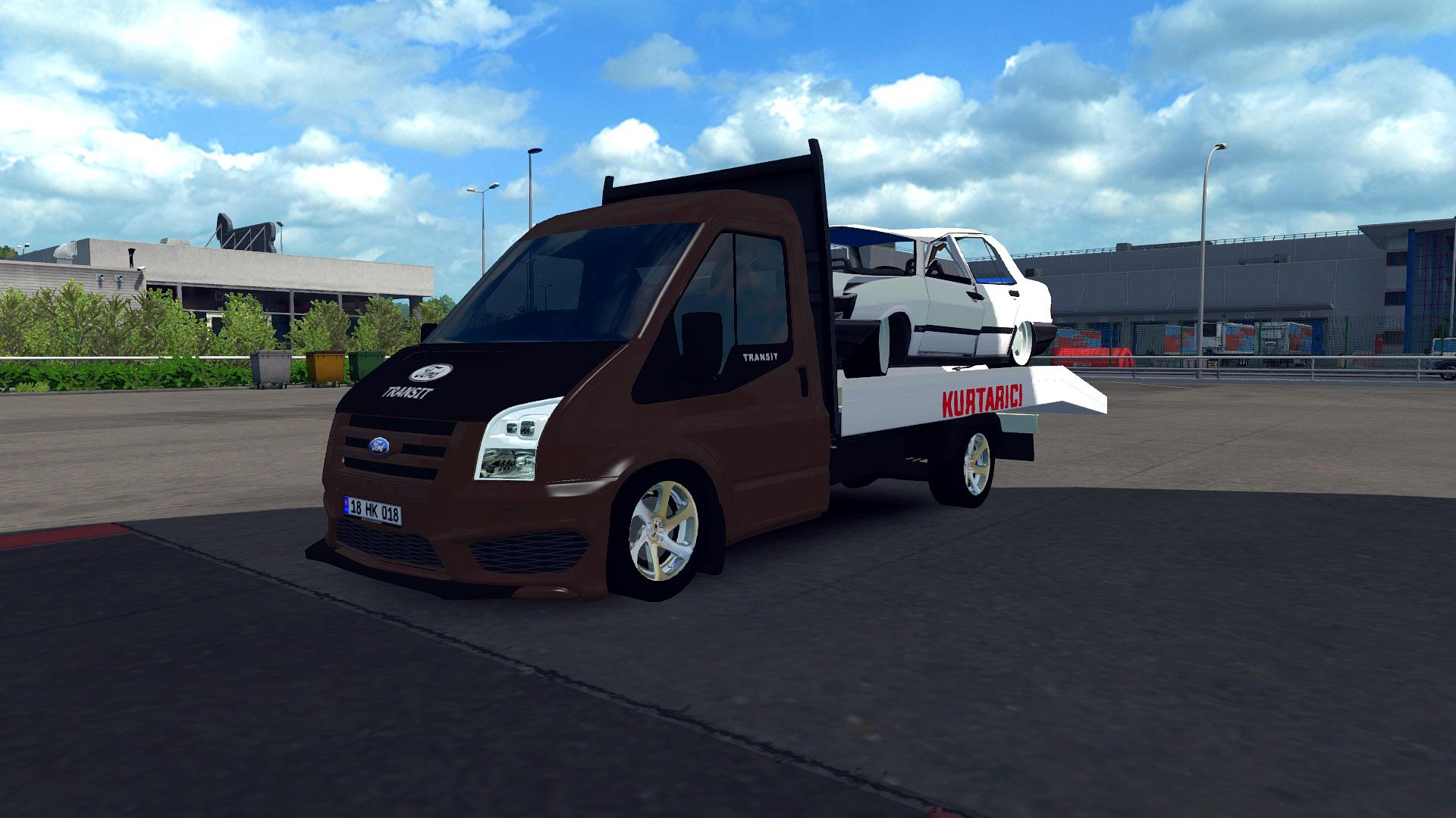 Photo of ETS2 – Ford Transit Pikap Modu
