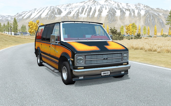 Photo of BeamNG – Gavril H-Serisi The VANderer 70s Lace