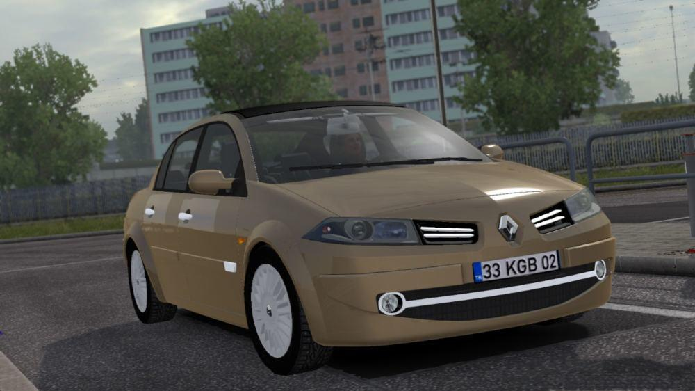 Photo of ETS2 – Renault Megane 2 V1R2 Araba Modu