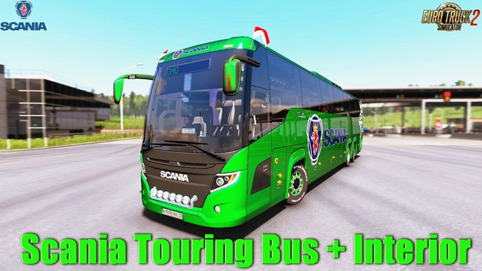 Photo of ETS2 – Scania Touring Otobüs Modu