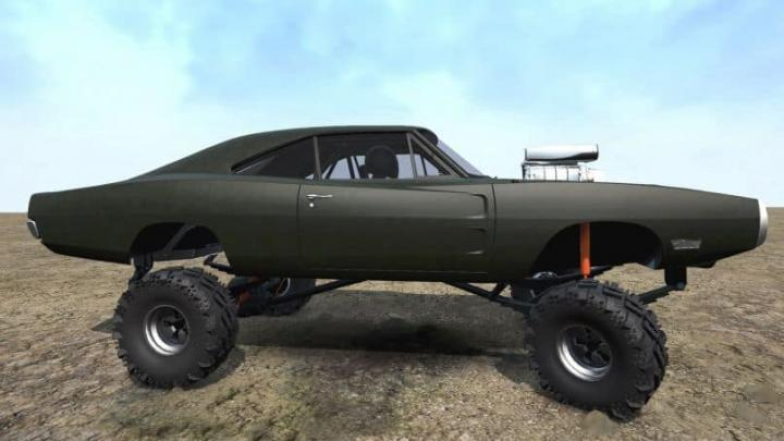 Photo of SpinTires MudRunner – 1970 Dodge Charger 4×4 v03/07/19